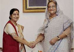 swaraj leaves for home after bangladesh visit