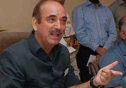 telangana mps disappointed with azad s statement ready for