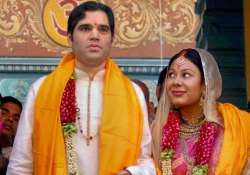 varun gandhi becomes father of baby girl