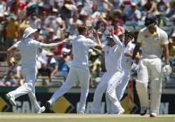 ashes england 24 0 after dismissing australia for 385 day 2