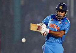 asia cup india survives late collapse to post 264/9 against