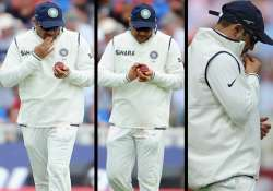 british tabloid says sehwag tried to tamper ball with mint