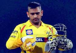clt20 watch dhoni s five huge blistering sixes in one over