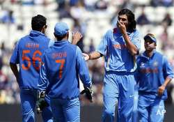 champions trophy dress rehearsal for indian batsmen as they