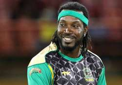 chris gayle lauds bowlers for tallawahs winning home games