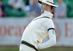 clarke doubtful for first ashes test