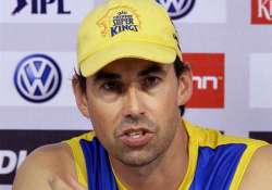 ipl7 fleming attributes csk defeat to slow pitch