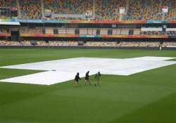 world cup 2015 australia vs bangladesh match delayed due to