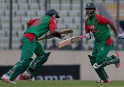 bangladesh post a commanding 307 against india in 1st odi