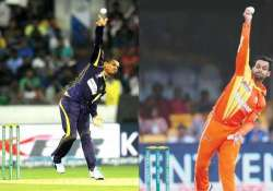 mystery spinner sunil narine mohammad hafeez reported for