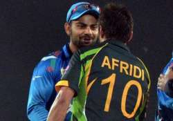 afridi kohli needs to improve as a leader of the pack