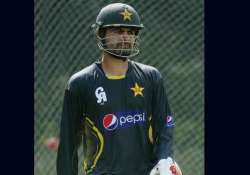 controversies see ahmed shehzad out of t20 captaincy s race