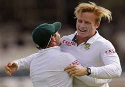 sa vs wi south africa bowled west indies out for 215
