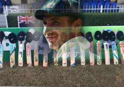 cricket legends join fans in a touching put out your bats