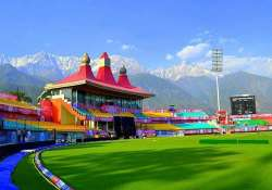no ipl in dharamsala cong bjp trade charges