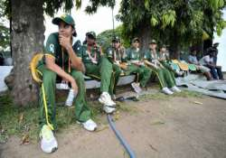 pak women s cricket team staying in stadium fearing attacks