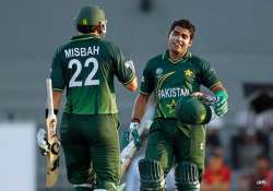 impressive pakistan crush kenya by 205 runs