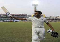 rohit had to wait 108 odis and six years for test debut