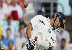 short pitched balls didn t not perturb sachin richardson