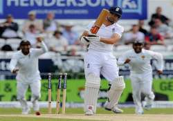 sri lanka in control of 2nd test england 57 5