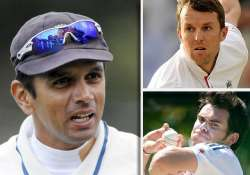 swann anderson key for england says rahul dravid