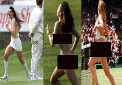 when streakers invaded the sports field