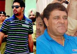 yuvraj s father says he may not hit too many sixes in mohali