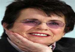 billie jean king won t attend sochi opening