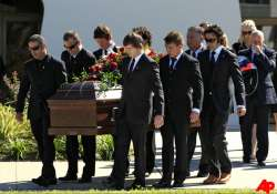 funeral held for british racing driver dan wheldon
