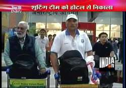 goof up by london olympics organizers indian shooters spend