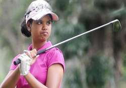 golfer vani takes centre stage