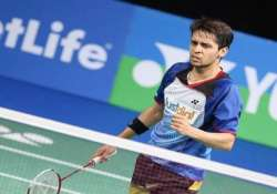 india s campaign ends in singapore open with kashyap s loss