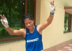 asian games mary kom in boxing semi finals