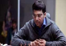 anand draws with bacrot slips to joint third in grenke chess