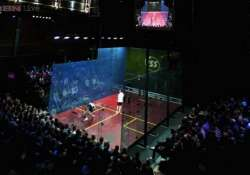 mixed day for indian eves in squash championship