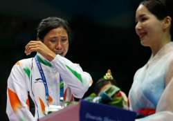 india to appeal to aiba to reconsider sarita s ban