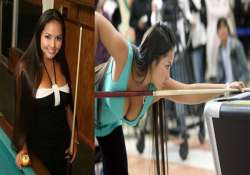 know the hottest player in pool and billiards shanelle