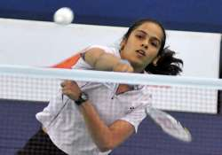 saina starts her quest for olympic medal against swiss