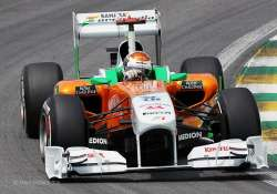 singapore grand prix sutil brings force india a point