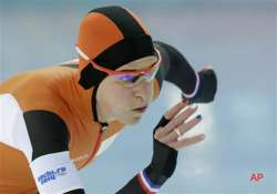 sochi olympics ireen wust gives dutch another speedskating