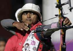 women s archery recurve team wins gold india bag 5 medals
