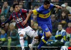 boca and san lorenzo share 1 1 draw in derby