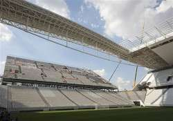 brazil holds test events at 2 world cup stadiums