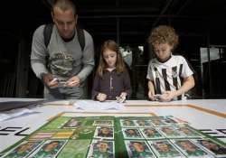 brazilians hit by sticker fever as world cup nears