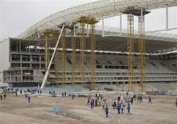 fifa resumes world cup stadium inspections.