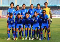 india suffer 0 2 defeat against pak in football friendly