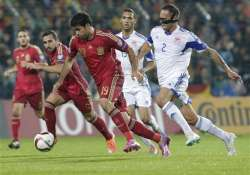 spain rebounds with 4 0 win at luxembourg