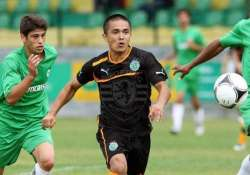 chhetri named aiff 2014 player of year for 2nd year in a row