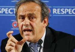 uefa chief michel platini hopes new leadership will solve