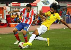 isl depleted atletico de kolkata impress in 1 1 draw